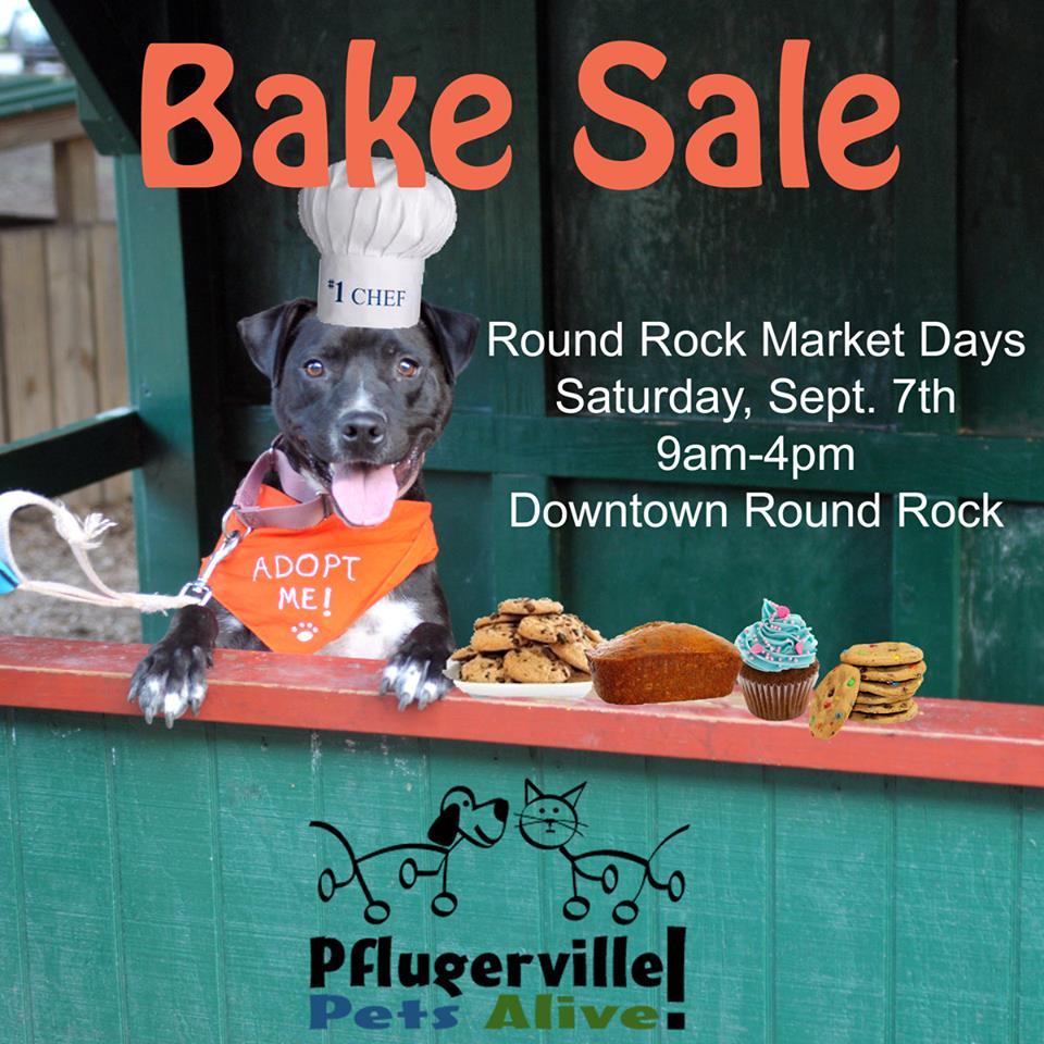 Bake Sale – September 7, 2013