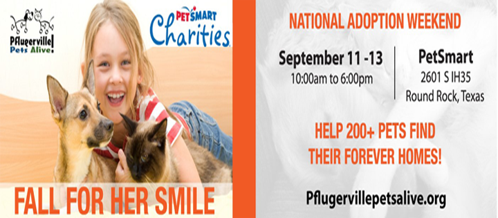 PPA PetSmart National Adoption Weekend